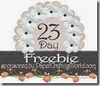 25days2013-day23-freebie