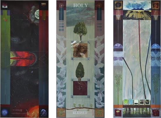 Isaiah 5 Ways and Thoughts Triptych