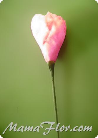 Flores de Tulipanes de Papel