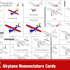FREE Airplane Nomenclature Cards