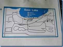 4508 Bass Lake Provincial Park - our walk in the Park - sign Waterview Trail