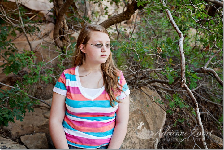 Megan trying to be serious. :)