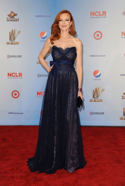 Marcia Cross arrives at the 2011 NCLR ALMA Awards