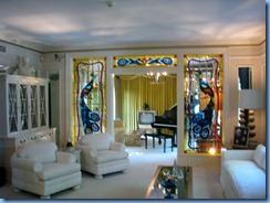 8115 Graceland, Memphis, Tennessee - Graceland Mansion - living room with music room at back