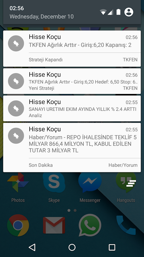 Hisse Koçu- screenshot