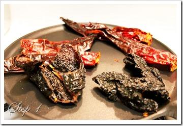 Enchiladas rojas recipe