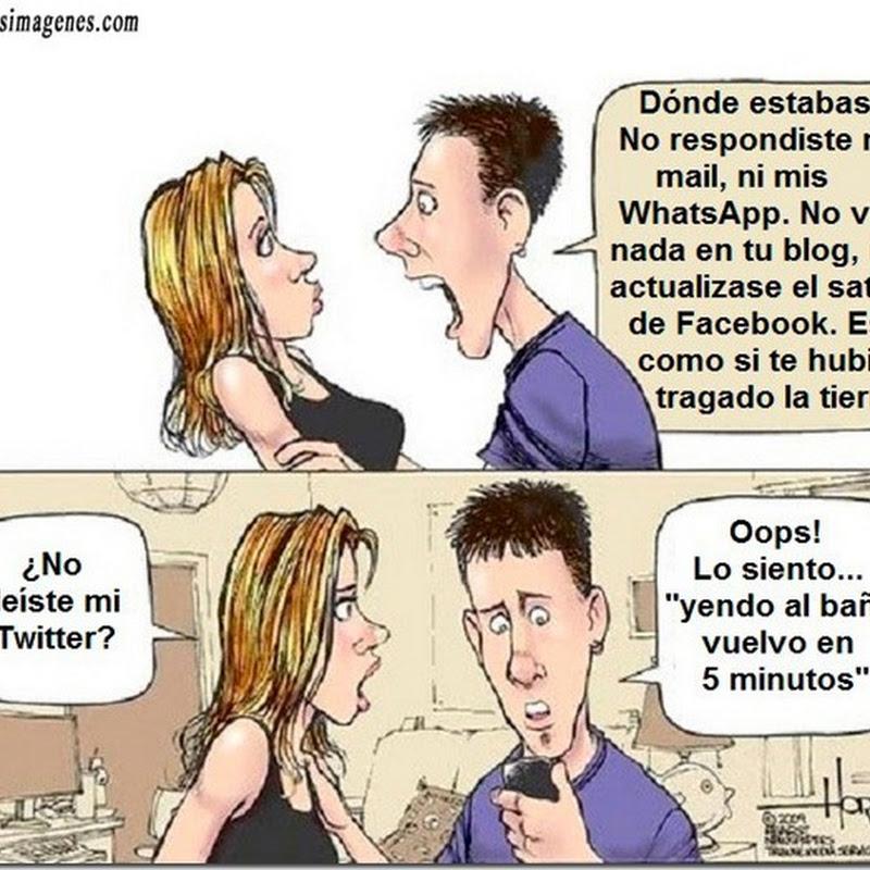 Humor sobre redes sociales