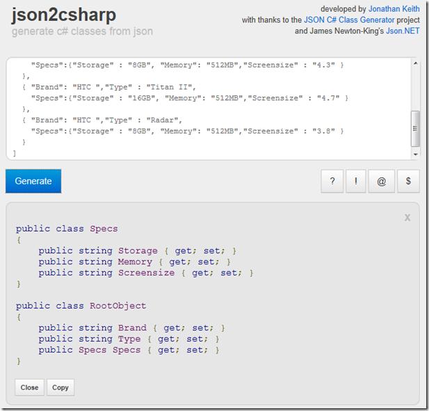 Dotnet by Example: JSON deserialization with JSON net: basics