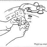 Aprender A Lavarse Las Manos Dibujos Para Ninos
