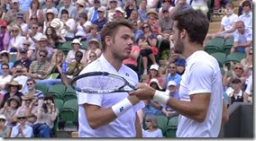 Wawrinka and Lopez