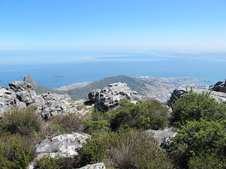 Obiective turistice Africa de Sud: Table Mountain.JPG