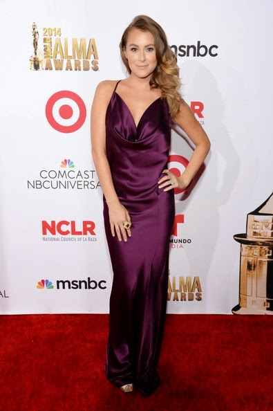 Alexa PenaVega attends the 2014 NCLR ALMA Awards