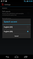 Screenshot of Offline English Dict. FREE