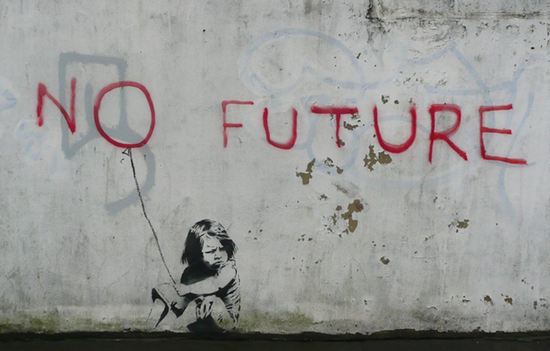 no future banksy
