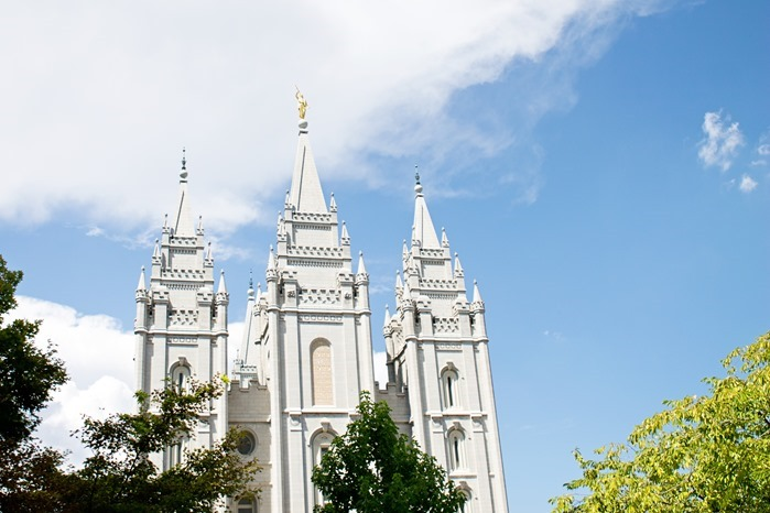 Salt Lake LDS Temple, Temple Sqaure, Utah