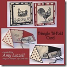 Amy_Triangle Tri-Fold card