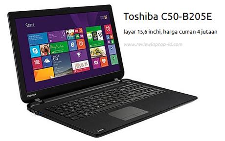Harga Jual Toshiba C50-B205E