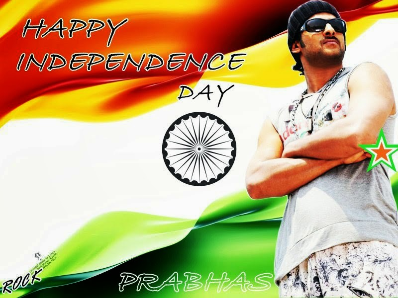 Prabhas Designs: Independence Day Designs By Prabhas Fans