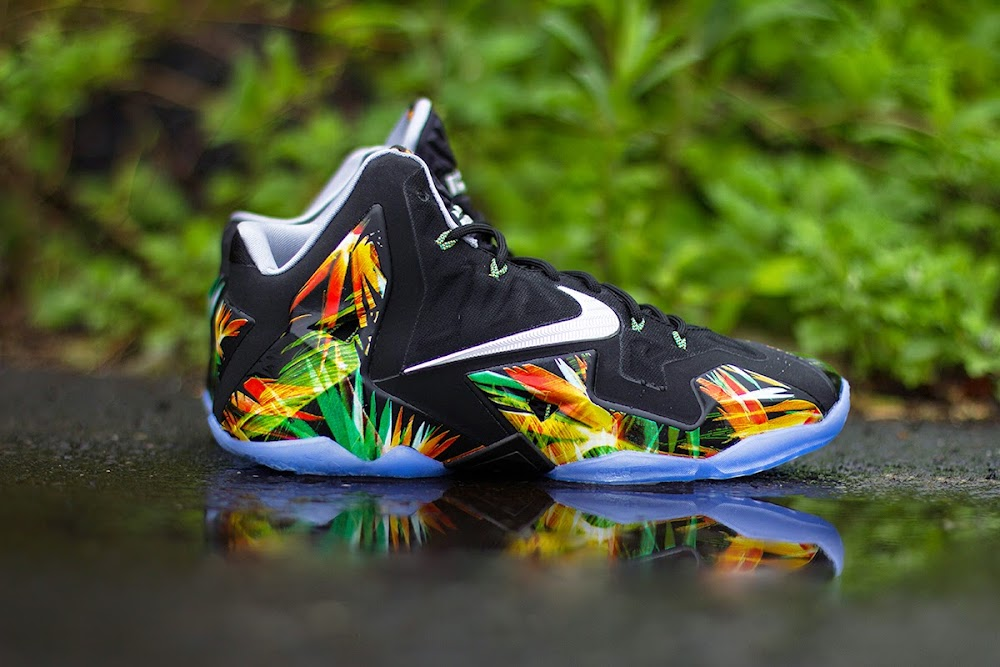 big sale ce4be cc87f ... Release Reminder Nike LeBron XI 8220Everglades8221 Goes Into the Wild  ...