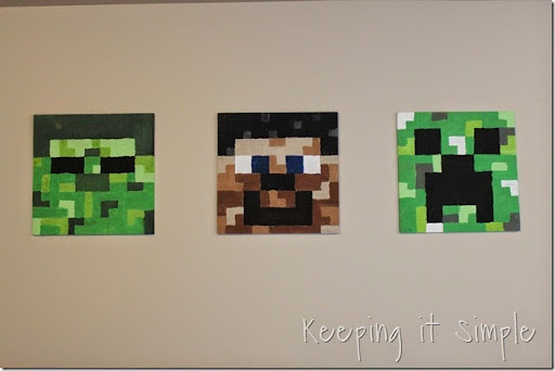 Large DIY Minecraft Wood Signs (10)