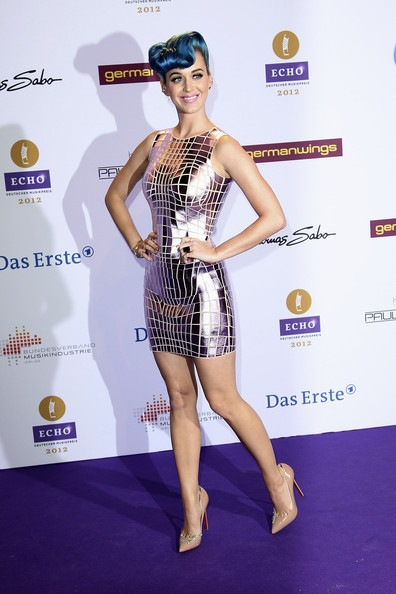 Katy Perry Echo Award 2012 Red Carpet Arrivals