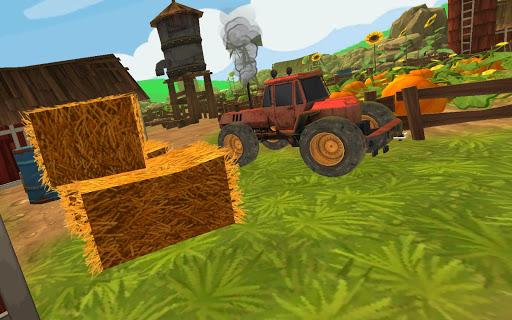 Farm Tractor Parking 3D