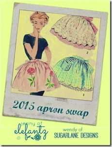 ELEFANTZ and Sugarlane Designs Apron Swap button 2015 (2)