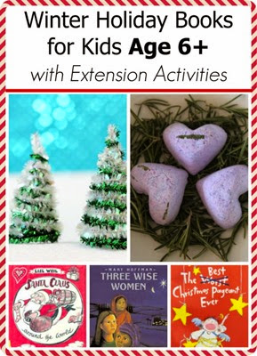 Winter Holiday Books for Children Age 6+ with Extension Activities