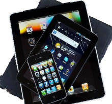 Tablet smartphone stack