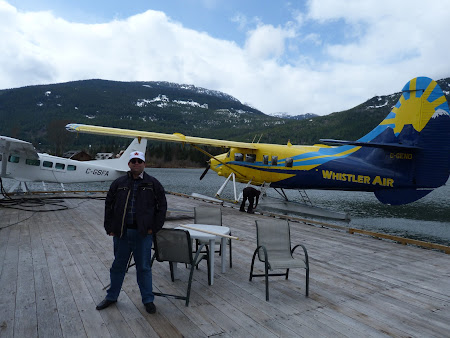 Hidroavion in Whistler Canada