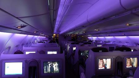 Airbus A380 Air France: Noaptea la bord