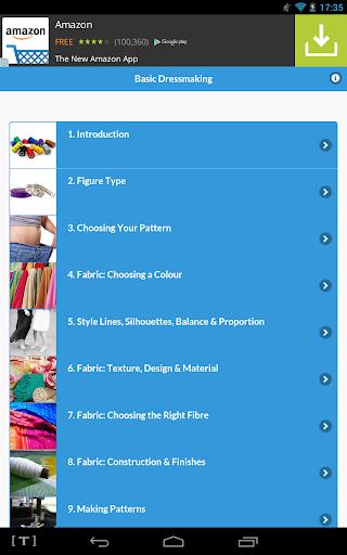 Basic Dressmaking screenshot
