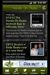 Handz On Radio - screenshot thumbnail