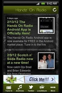 Handz On Radio - screenshot thumbnail