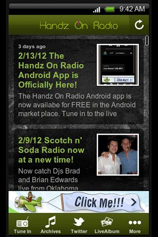 Handz On Radio - screenshot