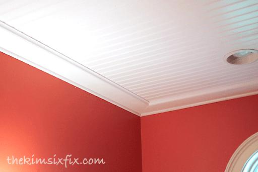 Beadboard Ceiling Trim Boards
