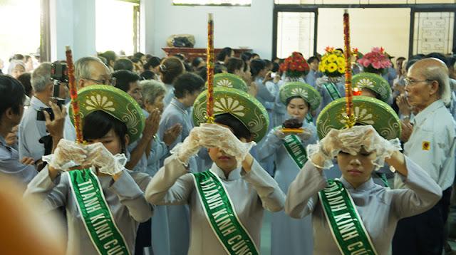 DSC06364 Lễ Hiệp kỵ   Lễ Huý Nhật Cư sĩ Sáng lập viên GĐPT Việt Nam   Tâm Minh Lê Đình Thám