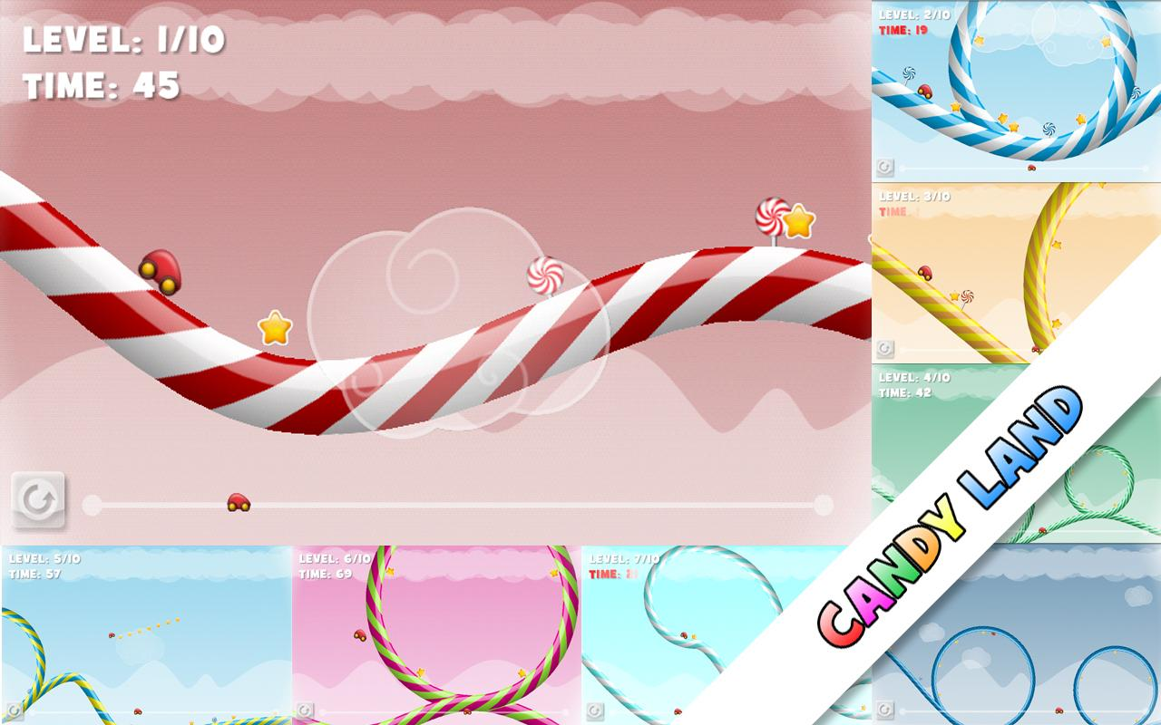 Candy Racer Free- screenshot