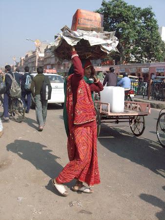 Obiective turistice India: caratoare