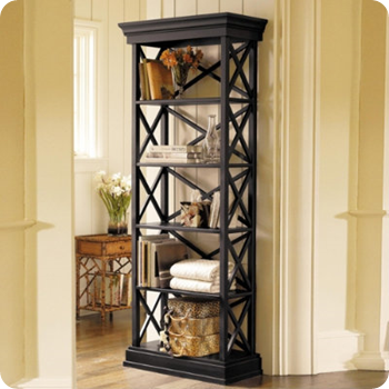 ballard designs bourdonnais bookcase
