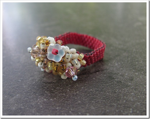 Tamdoll's Beaded Ring