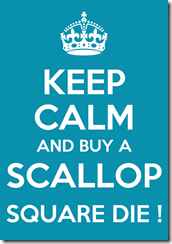Buy a Scallop Square Die by Amanda at The Craft Spa