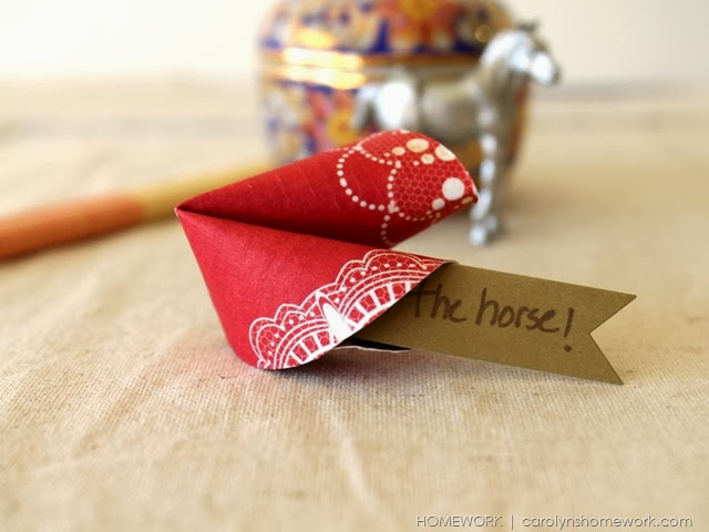Chinese New Year Paper Fortune Cookies via homework |  carolynshomework (4)