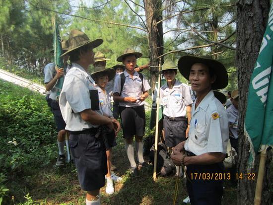 TraiDungThuaThioem2013 23 BHD GĐPT Thừa Thiên tổ chức Trại Dũng năm 2013
