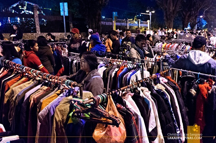 Second Hand Jackets at Baguio's Weekend Night Market