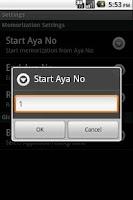 Screenshot of Let's Memorize ArRahmaan