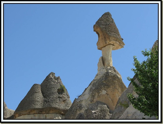 'Fairy Chimneys' near Zelve
