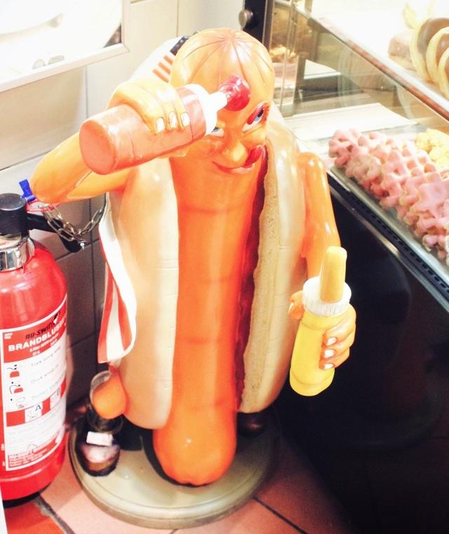 weird hotdog