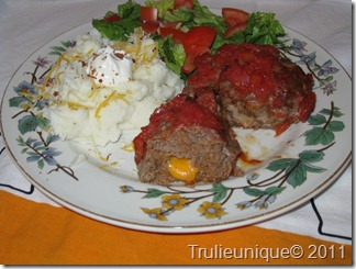 meatloaf, cheesy meatloaf, mini meatloaf,