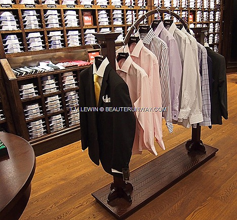 T.M.Lewin Spring Summer 2012 Fall Winter 2013 business wardrobe quality tailored shirts, ties, cufflinks, accessories suits men women CityLink Mall Jermyn Street London traditional British heritage new concept store